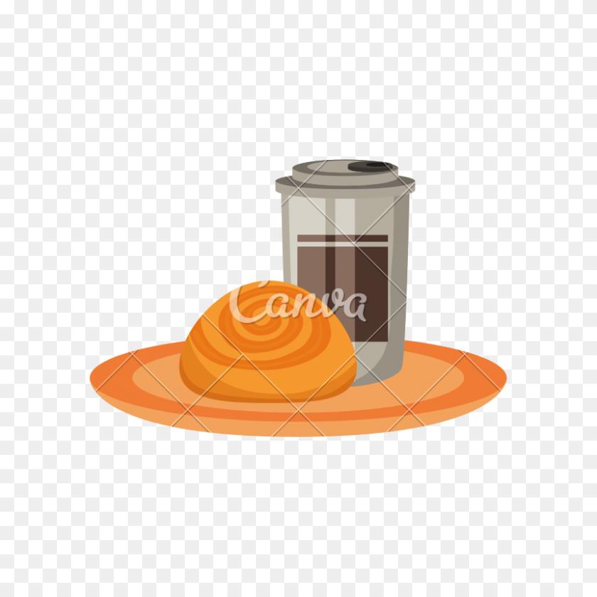Cinnamon Roll Breakfast 5x7 Print from Acrylic Painting   Etsy   Desserts  drawing, Food illustrations, Cinnamon rolls