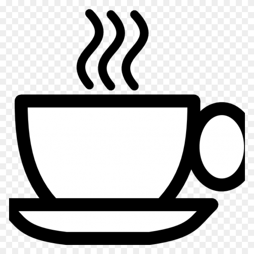 1024x1024 Coffee Cup Clipart Free Free Clipart Download - Meeting Clipart Black And White