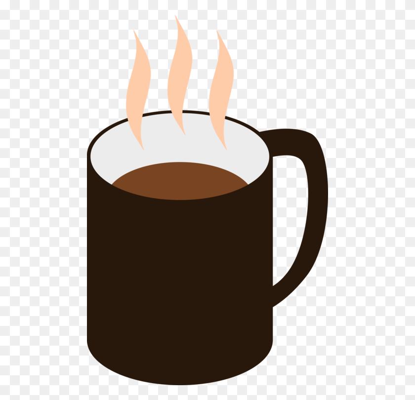 488x750 Coffee Cup Mug Teacup - Free Clipart Coffee Cup Steaming