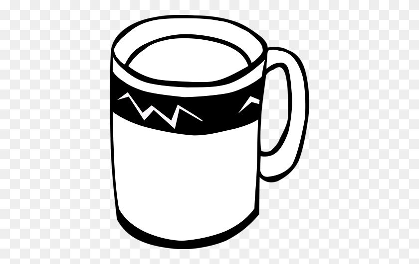 Coffee Mug Clip Art Look At Coffee Mug Clip Art Clip Art Images - Marshmallow Clipart Black And White