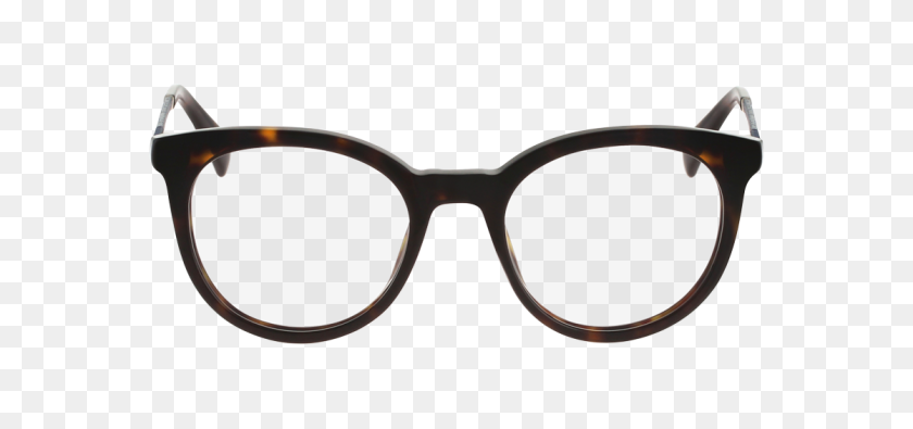 Cole Haan Glasses Trendy Round Glasses - Round Glasses PNG