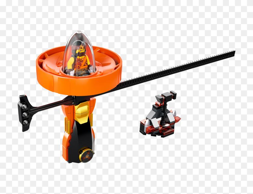 Cole Spinjitzu Master Toy Building Zone - Ninjago PNG