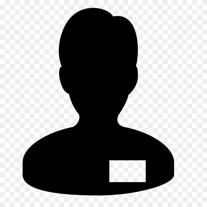 Collaborator Male Icon - Male Icon PNG