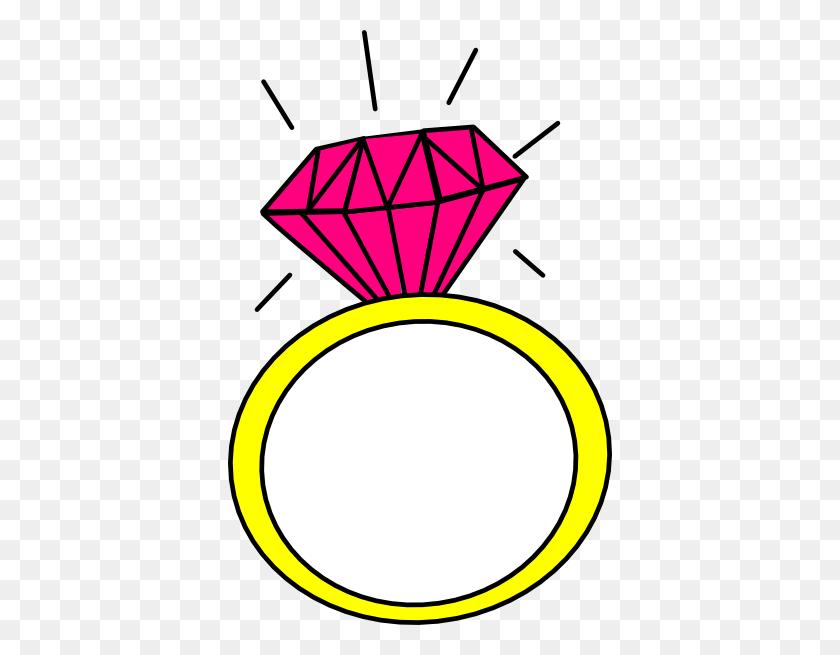 Color Wedding Engagement Clipart - Wedding Program Clipart