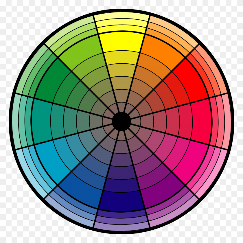 Color Wheel Color Cmyrgb Color Wheel - Color Wheel PNG