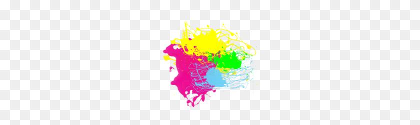 Colorful Paint Splatter Png, Colorful Paint Splatter Png - Paint Splatters PNG