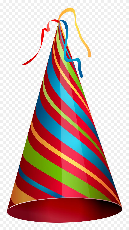 4333x8000 Colorful Party Hat Transparent Png Clip Art Gallery - Part Clipart