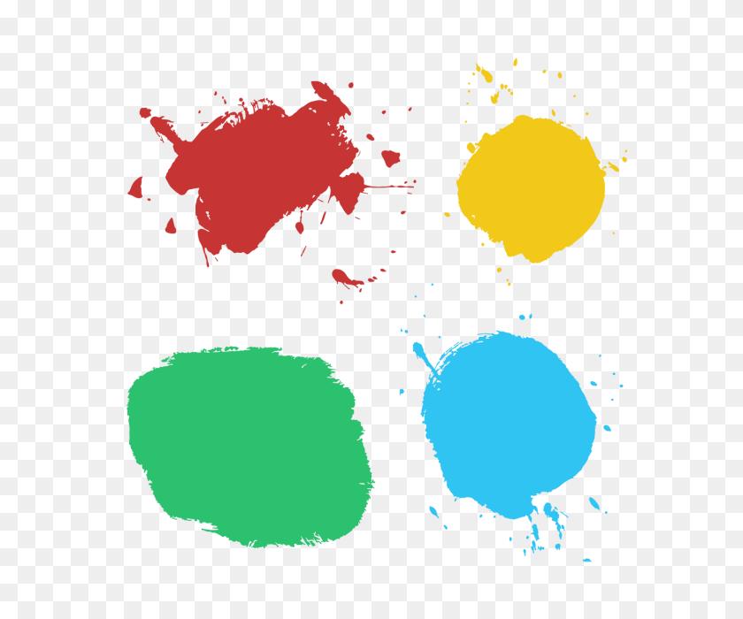 Colorful Splash Splatter Collection, Colorful, Splash, Splatter - Milk Splash PNG