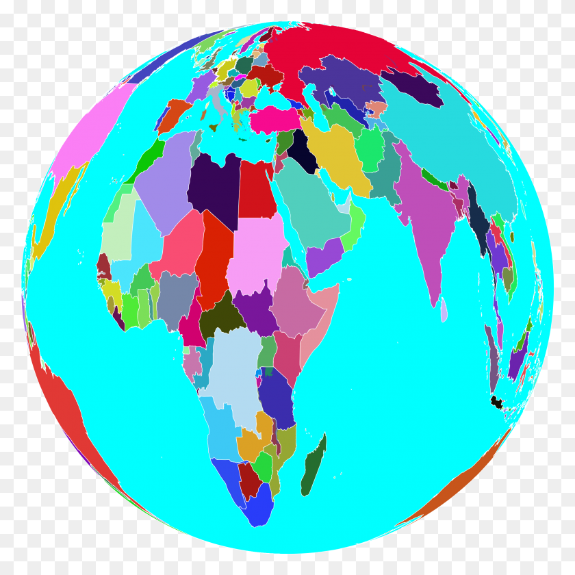 Colorful World Globe Icons Png - World Globe PNG – Stunning