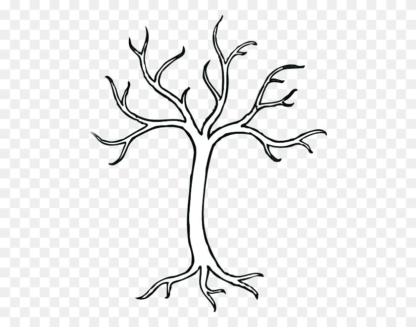 Coloring Bare Tree Clip Art Bare Tree Clipart Black And White