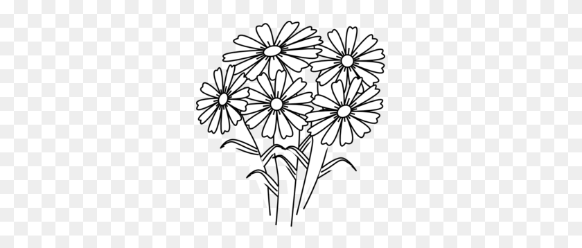 Coloring Book Flowers Clip Art - Coloring Book Clipart