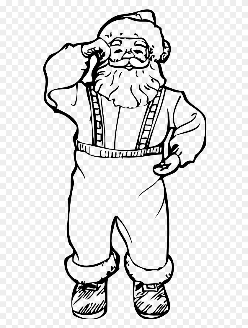Coloring Pages Santa Boots Santa Boots Clipart Black And White - Santa Black And White Clipart