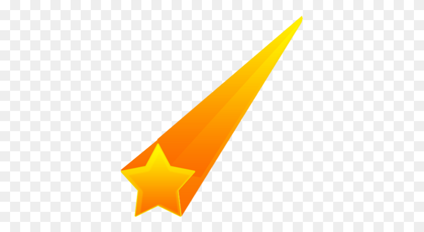 Colourful Shooting Stars Transparent Png - Star PNG Image