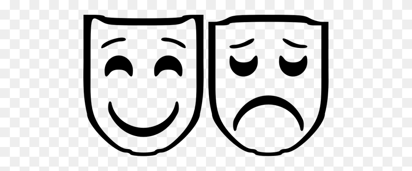 Comedy Tragedy Masks Free Clip Art Theater Masks Clipart World - Drama Masks Clipart