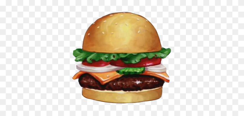 Comidas De Desenho Animado Que Sempre Quis Comer Hamburguer Png