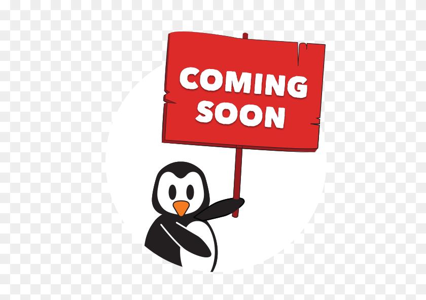 Coming Soon Sign Pengu Swim School - Coming Soon Sign PNG