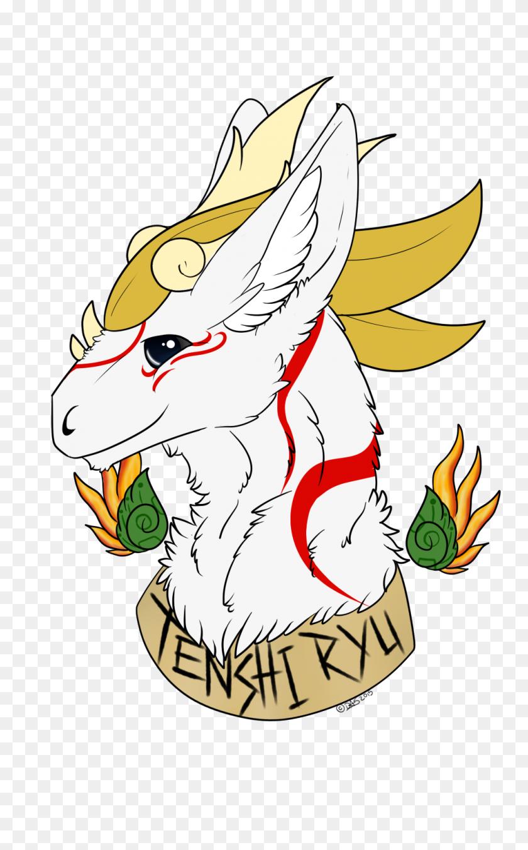 1000x1656 Commission Tenshi Ryu Dutch Angel Dragon Flat Color Weasyl - Ryu PNG