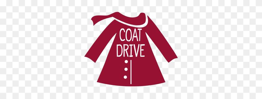 Community Coat Drive - Winter Coat Clip Art