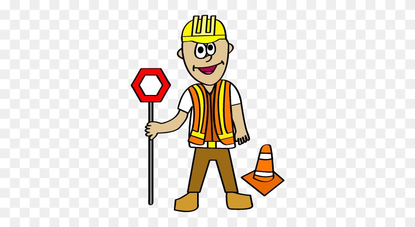 Community Helpers Bundle The Construction Worker Kidlette Clip - Teacher Helper Clipart