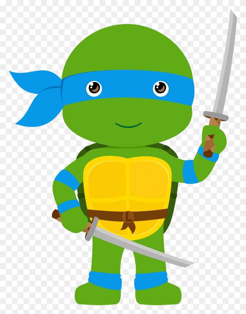 Compartiendo Tortugas Ninjas - October Birthday Clipart