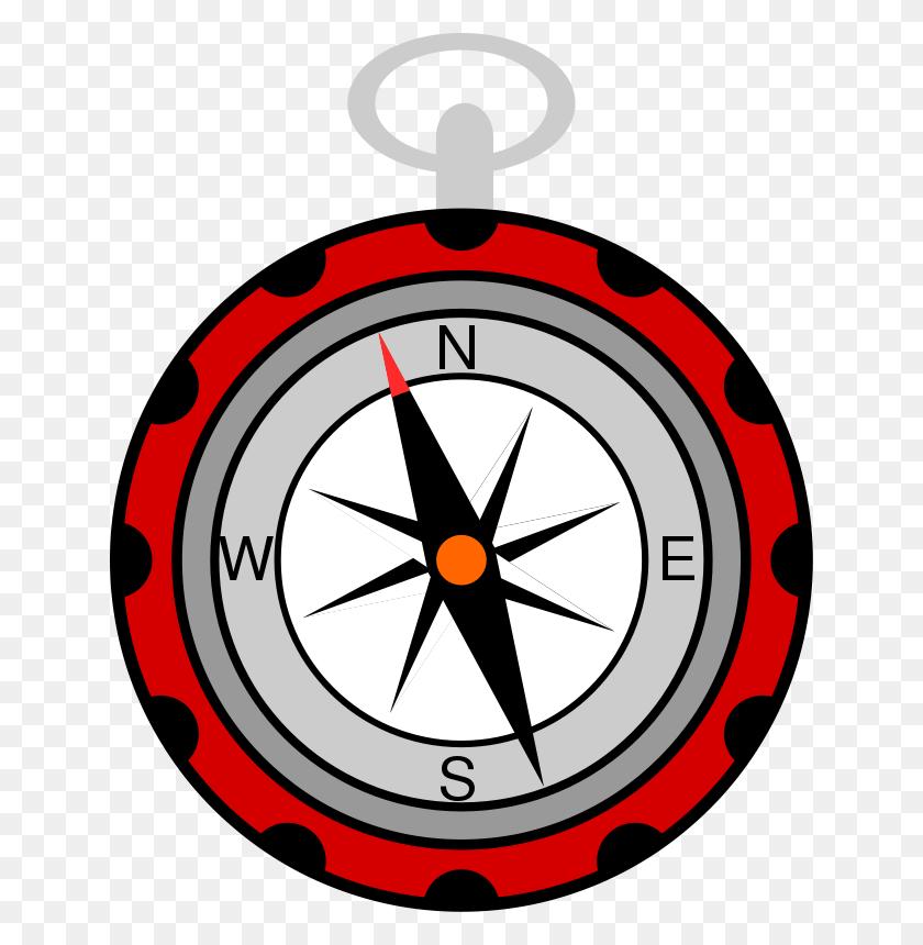 Compass Clipart School - School Clock Clipart