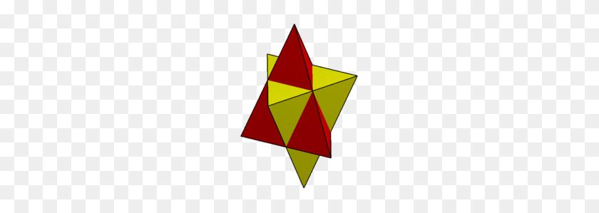 Compound Of Two Triangular Pyramids - Pyramids PNG