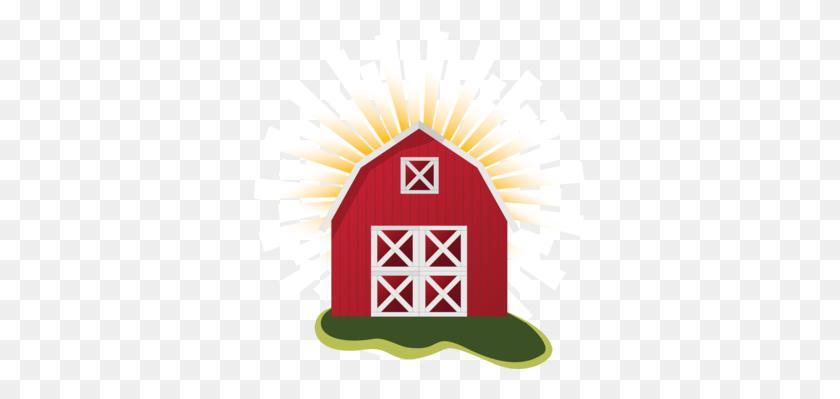 331x339 Computer Icons Barn Farmhouse - Free Farmhouse Clipart