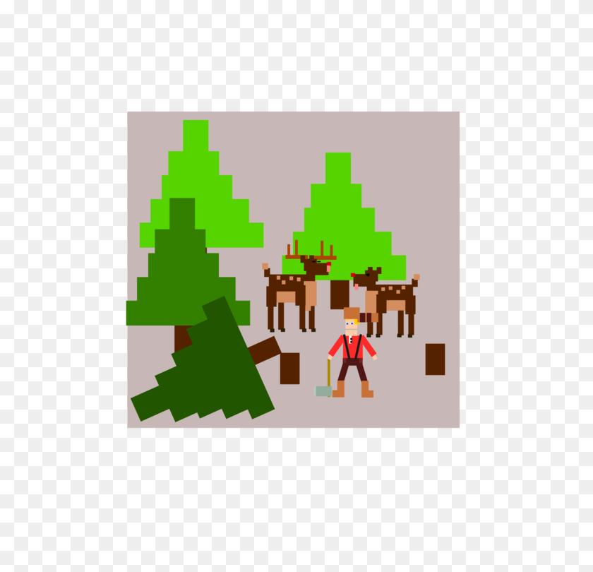 Computer Icons Christmas Tree Lumberjack Cartoon - Lumberjack Clipart