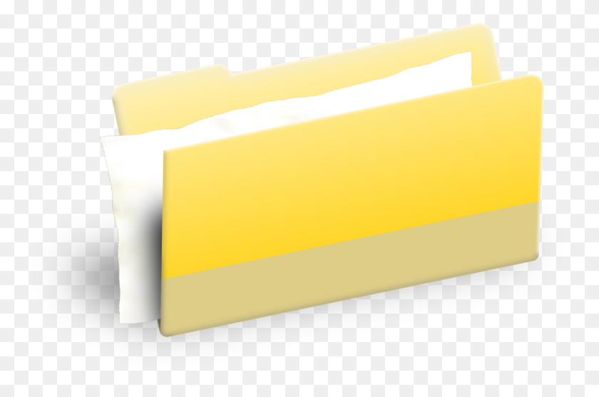 Computer Icons Document Folders Directory Bitmap Free - Manila Folder Clipart