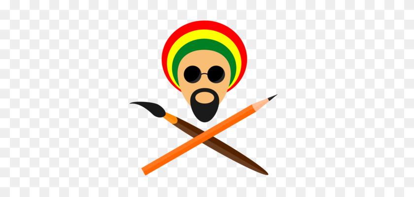 Computer Icons Drawing Reggae Musician - Rastafarian Clipart