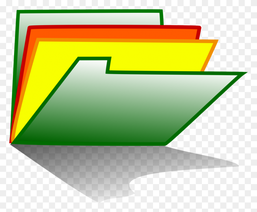 Computer Icons Folders Directory Document Download Free - Manila Folder Clipart
