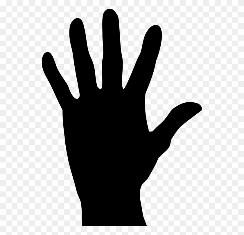 Computer Icons Hand Silhouette Drawing - Reaching Hands Clipart
