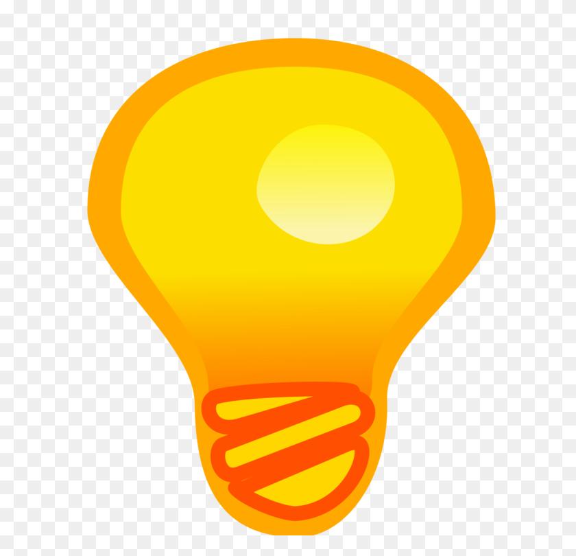 Computer Icons Incandescent Light Bulb Drawing Download Free - Light Bulb Idea Clipart