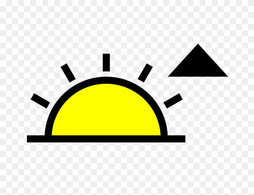 Computer Icons Symbol Sunrise Icon Design Daytime - Sunrise Clipart Free