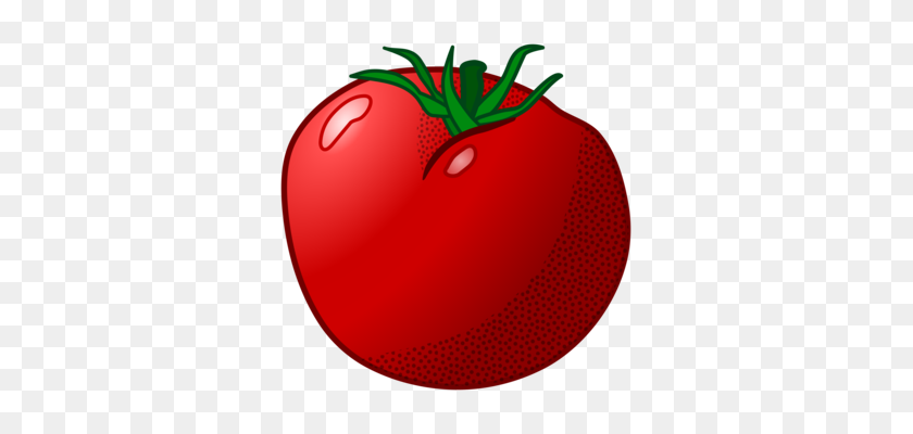 Computer Icons Tomato Soup Pizza Vegetable - Tomato Slice PNG