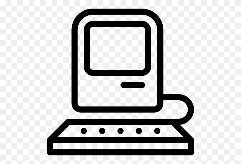 Computer Macintosh Vintage, Macintosh Icon With Png And Vector - Macintosh PNG