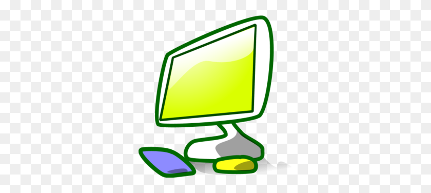 Computer Monitor And Keyboard Clip Art - Screen Clipart