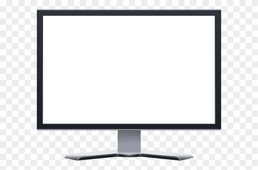 Computer Monitor Blank Clip Art - Monitor PNG