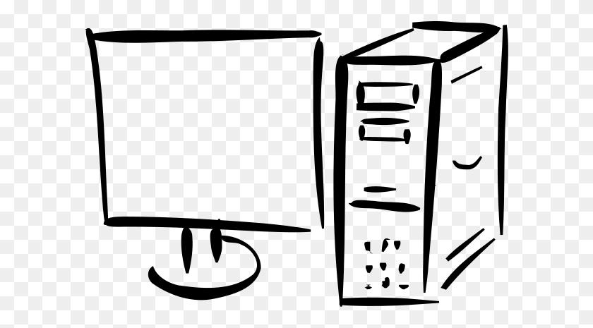 Computer Monitor Clip Art - Screen Clipart