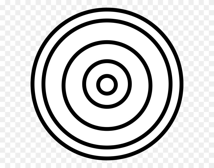Concentric Circles Clip Art - Concentric Circles PNG