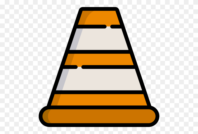 Cone Traffic Cone Png Icon - Traffic Cone PNG