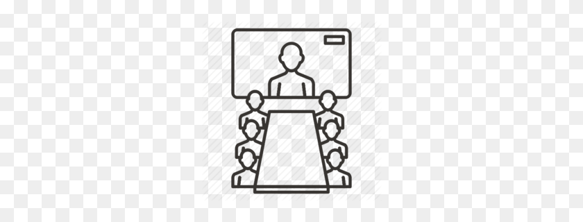 260x260 Conference Clipart - Meeting Clipart Images