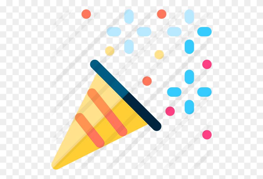 512x512 Confetti - Free Confetti Clip Art