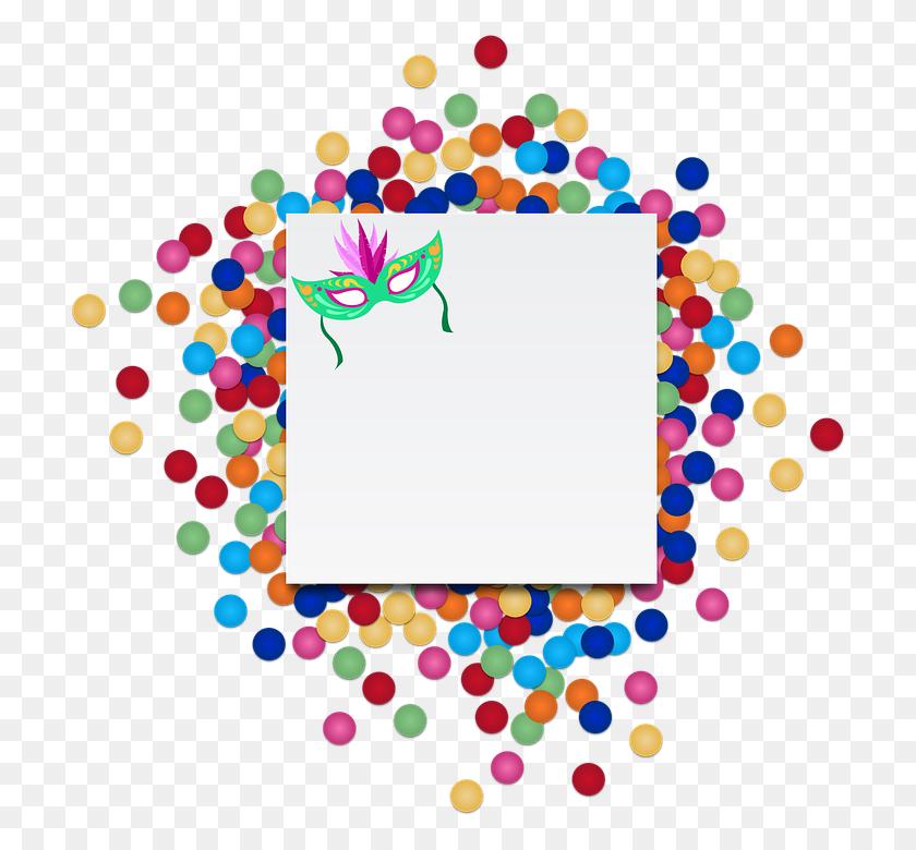 714x720 Confetti Transparent Png Pictures - Free Confetti Clip Art