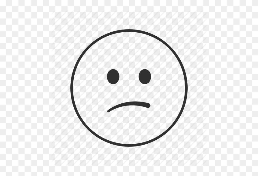 Confused, Confused Face, Emoji, Sad, Sad Face, Smirk, Smirking - Smirk Emoji PNG