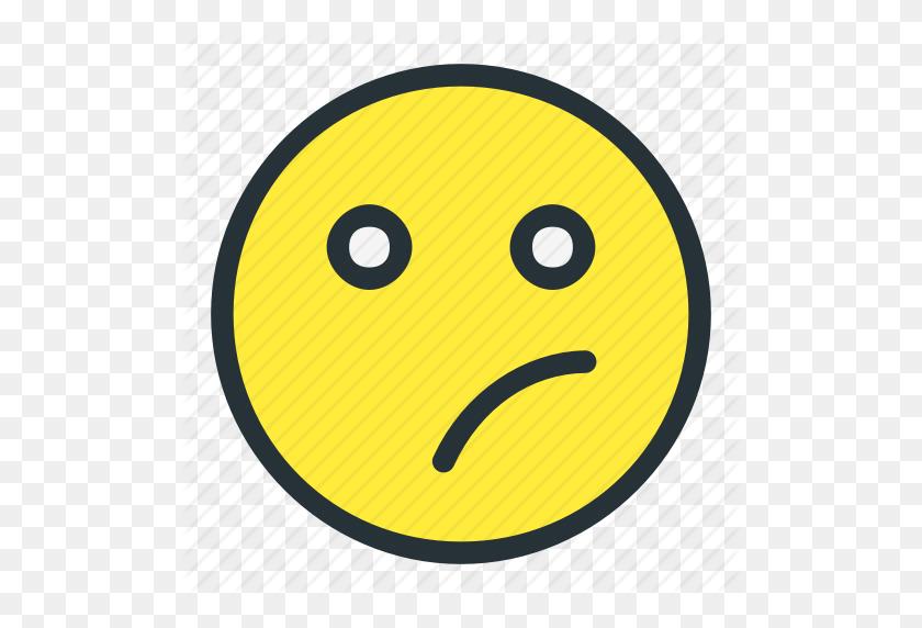 Confused, Emoji, Emoticons, Face, Nope, Smiley Icon - Confused Emoji PNG