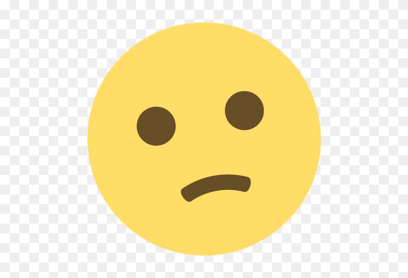 Confused Face Emoji Emoticon Vector Icon Free Download Vector - Confused Face Clipart