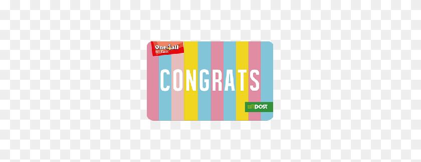 Congrats Gift Card - Congrats PNG