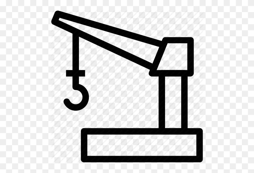Construction Crane, Crane, Material Lifter, Pulley Crane, Tower - Construction Crane Clipart