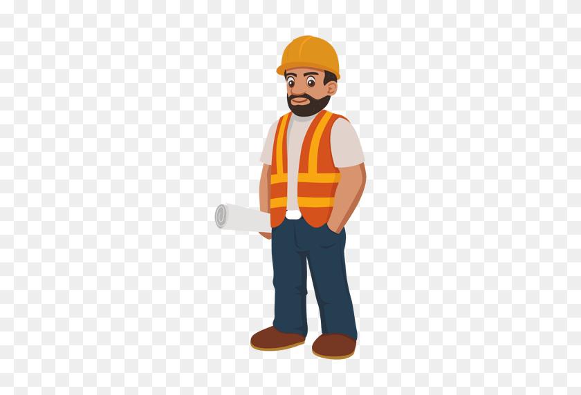 Construction Worker Cartoon - Construction Worker PNG